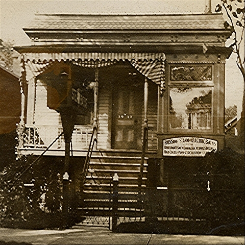 This house on North Lexington Street in Chicago was the home of George and Elizabeth (Ratfield) Trout from at least 1887 to 1920